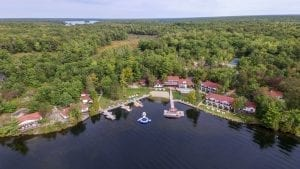Photo of Severn Lodge, One of the Finest Muskoka Attractions.