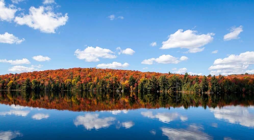 Photo of Gloucester Pool, One of the Best Fall Getaways in Ontario.